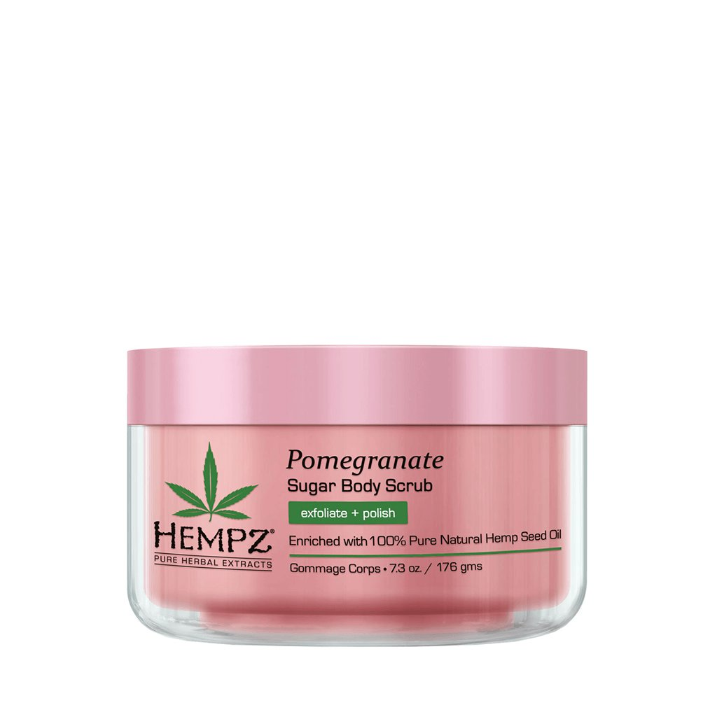 "Hempz Pomegranat Herbal Sugar Body Scrub - Сахарный скраб для тела ""Гранат"""