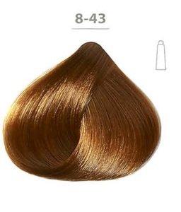Ducastel Subtil Crème Resistant Hair Dye 8 43 Light Blonde Golden Copper