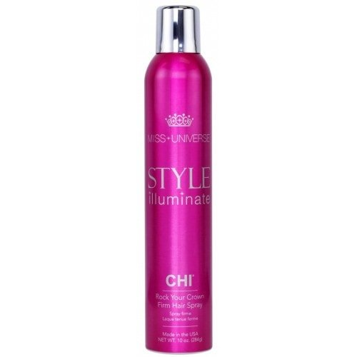 CHI Miss Universe Style Illuminate Rock Your Crown Firm Hair Spray - Лак сильной фиксации